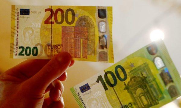 Nga nesër hyjnë në qarkullim kartëmonedhat e reja 100 dhe 200 euroshe