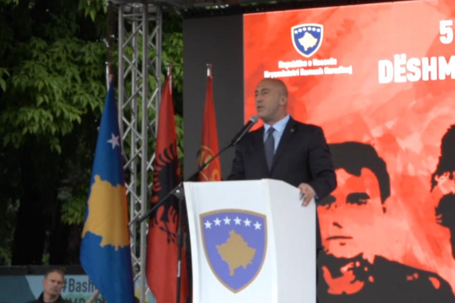 Haradinaj: E kemi gjetur Pejën shkrumb e hi