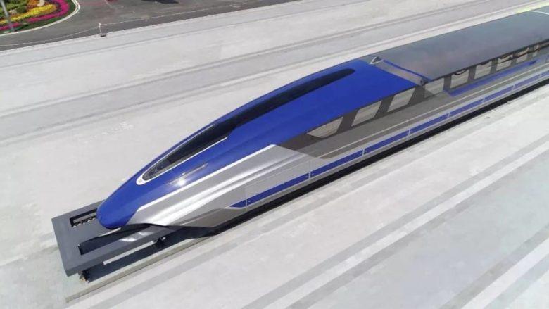Kina prezanton trenin me shpejtësi prej 600 kilometra në orë