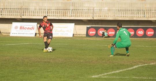 Tjetër gol në ndeshjen, Drenica – Ballkani