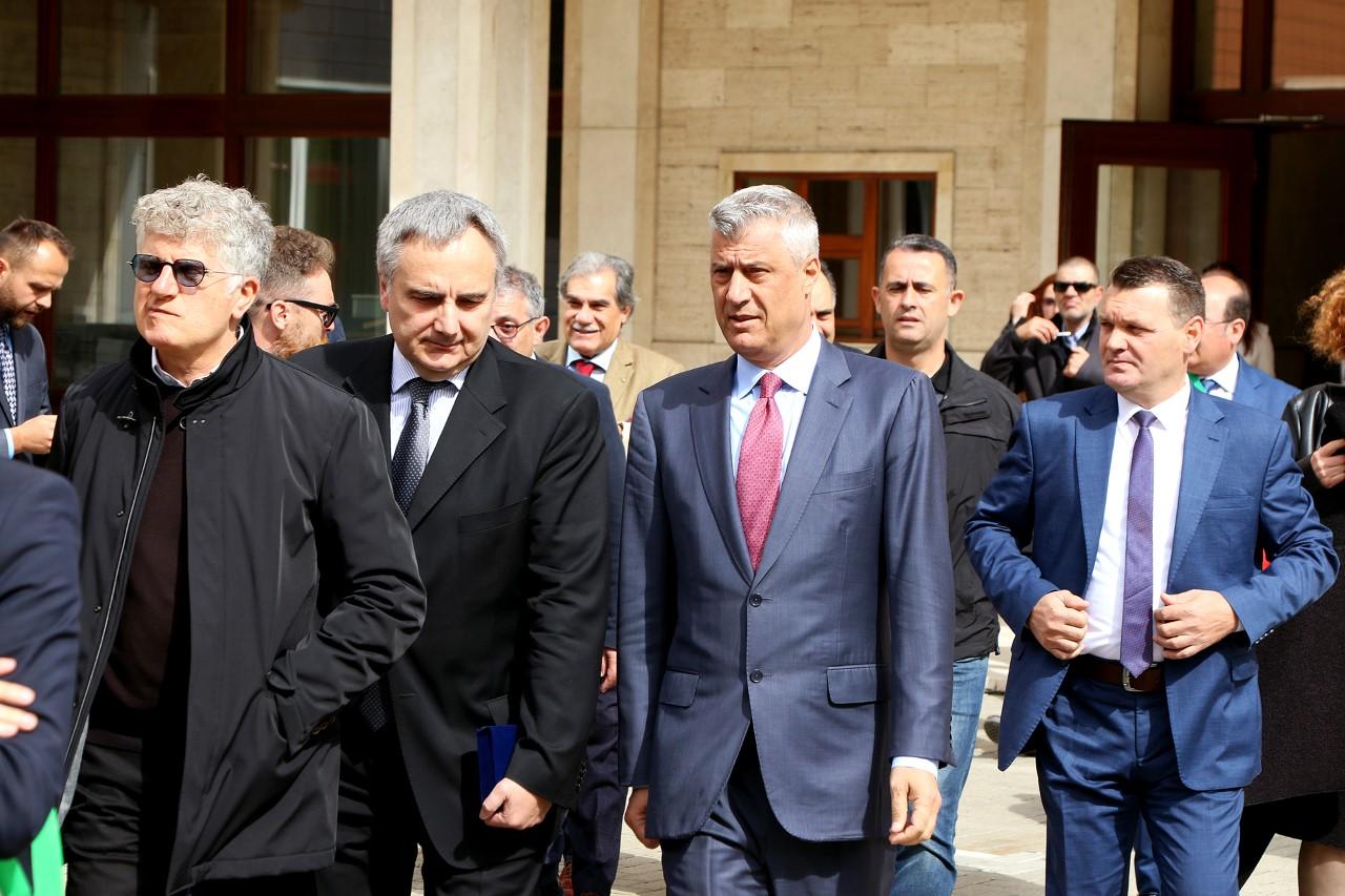 Thaçi takon arbëreshët e Italisë, thotë se janë fija e pashkëputur e qytetërimit shqiptar