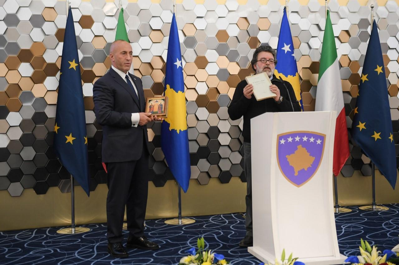 Haradinaj: Arbëreshët janë pasuri e përbashkët e Italisë dhe shqiptarëve