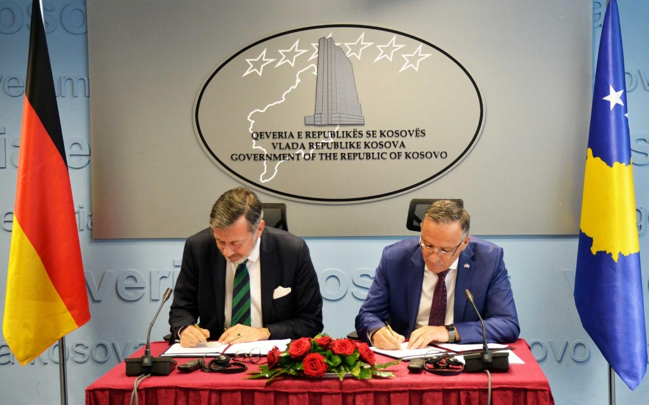 Gjermania jep dhe 2 milionë euro të tjera për Kosovën