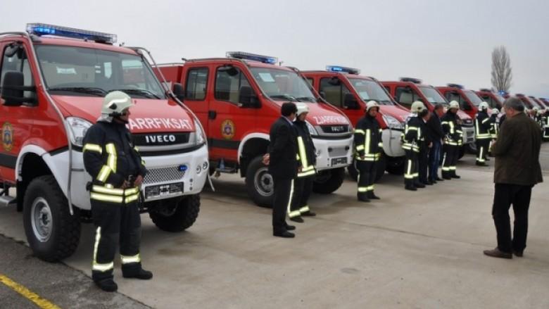 Një incident zjarri te Qafa në Prishtinë