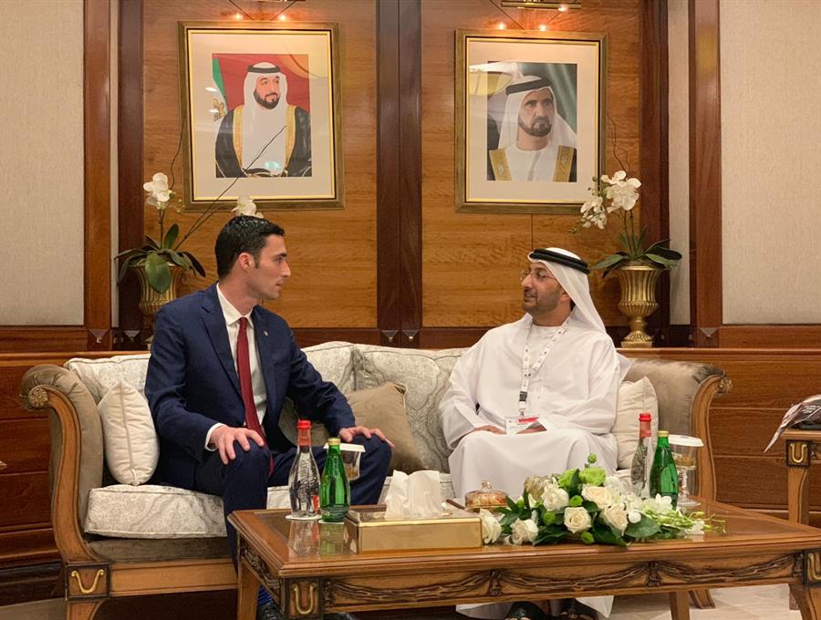 Ministri Shala takoi sekretarin për investime të huaja në Ministrinë e Ekonomisë së Emirateve, diskutojmë për thellim të bashkëpunimit ekonomik