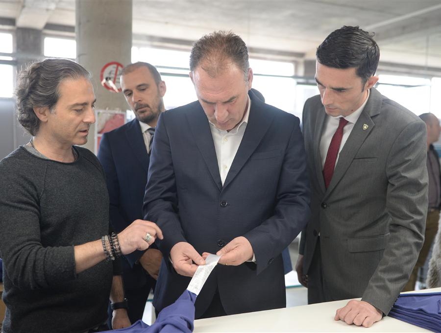 """Limaj dhe Shala të kënaqur me prodhimet """"Made in Kosova"""""""