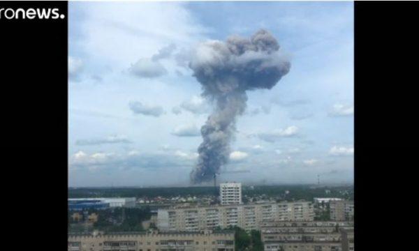 Dhjetëra të lënduar nga shpërthimi në fabrikën ruse që prodhon eksplozivë