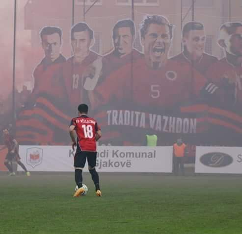 Një tjetër futbollist largohet nga Vëllaznimi