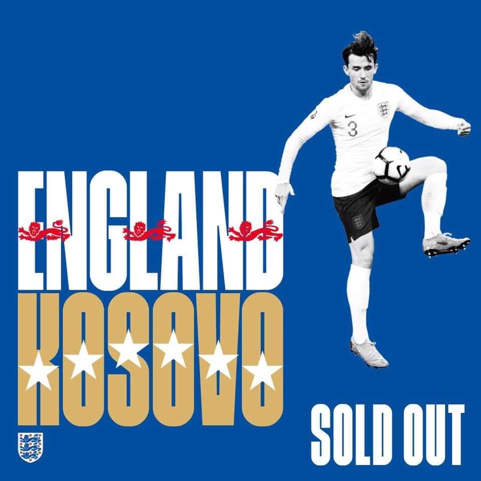 Anglie – Kosovo
