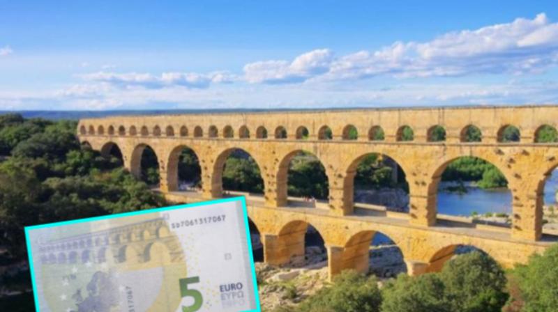 Ura e famshme që gjendet në kartëmonedhën 5 euro