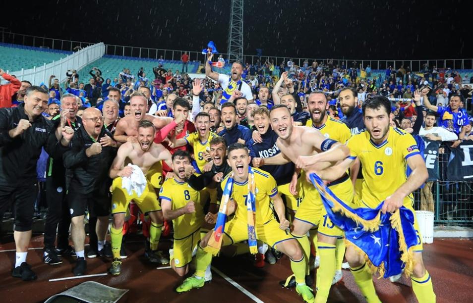 Fitorja e Kosovës ndaj Bullgarisë tremb Anglinë