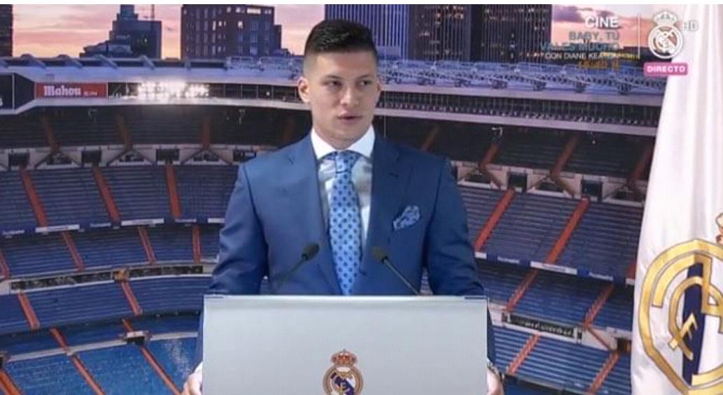 Luka Jovic prezantohet te Real Madridi