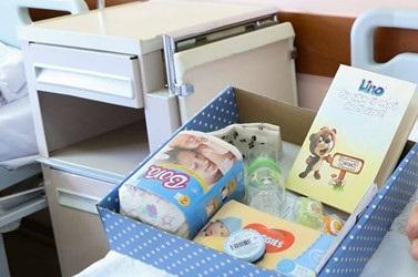 Pako me produkte për nënat që lindin në Gjinekologji