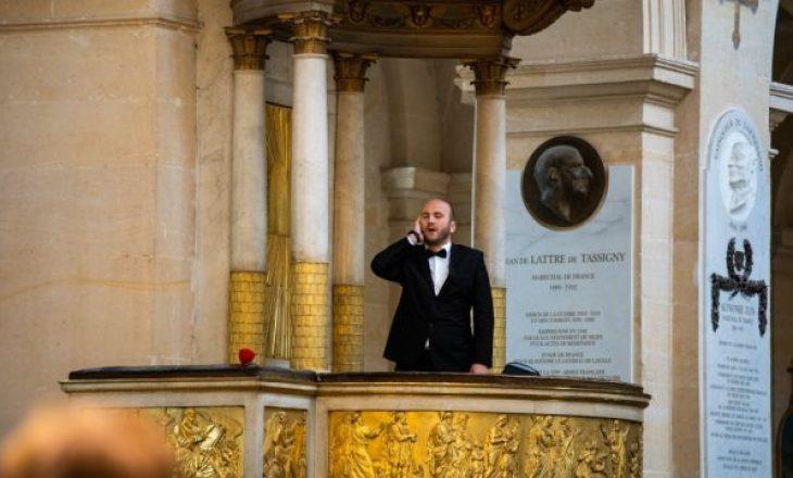 Kosovari thërret Erzanin në  Kishën Shën Lui në Paris (VIDEO)