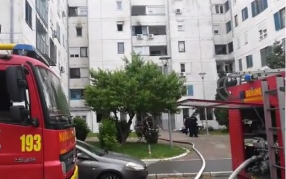 Në Serbi, nëna i vë zjarrin banesës, e lëndon fëmijën e veten, vajzën e hedh