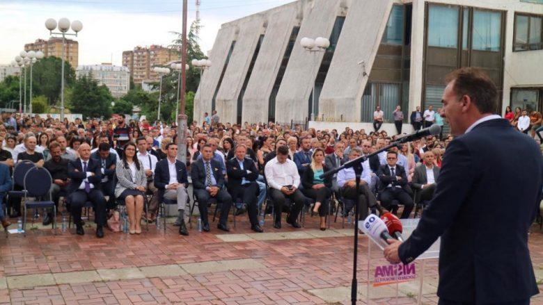 Nisma Socialdemokrate thotë se në Prishtinë iu bashkuan 880 anëtarë të rinj