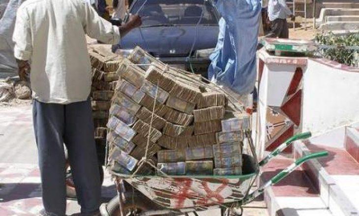 Shteti ku paraja nuk ka asnjë vlerë