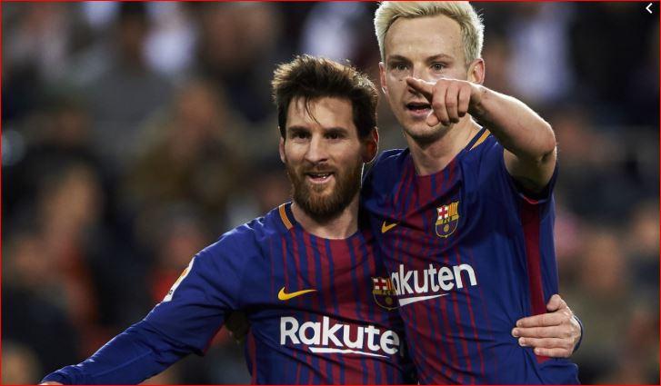 Lionel Messi dhe Rakitic të nominuar për golin e vitit nga UEFA