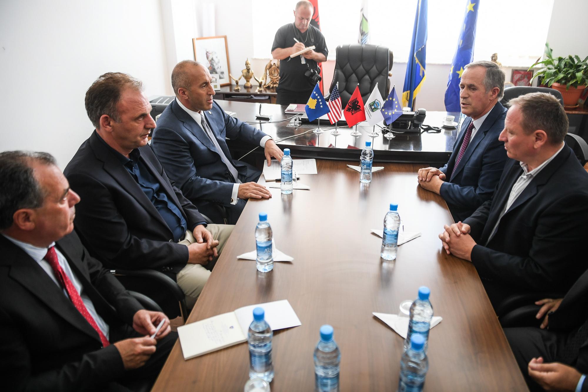 Haradinaj: Qeveria nacionale i ka qëndruar afër Komunës së Malishevës në disa tema