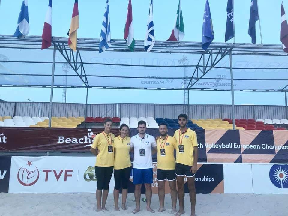 Kosova në Kampionatin Evropian U-22 të Beach Volleyt