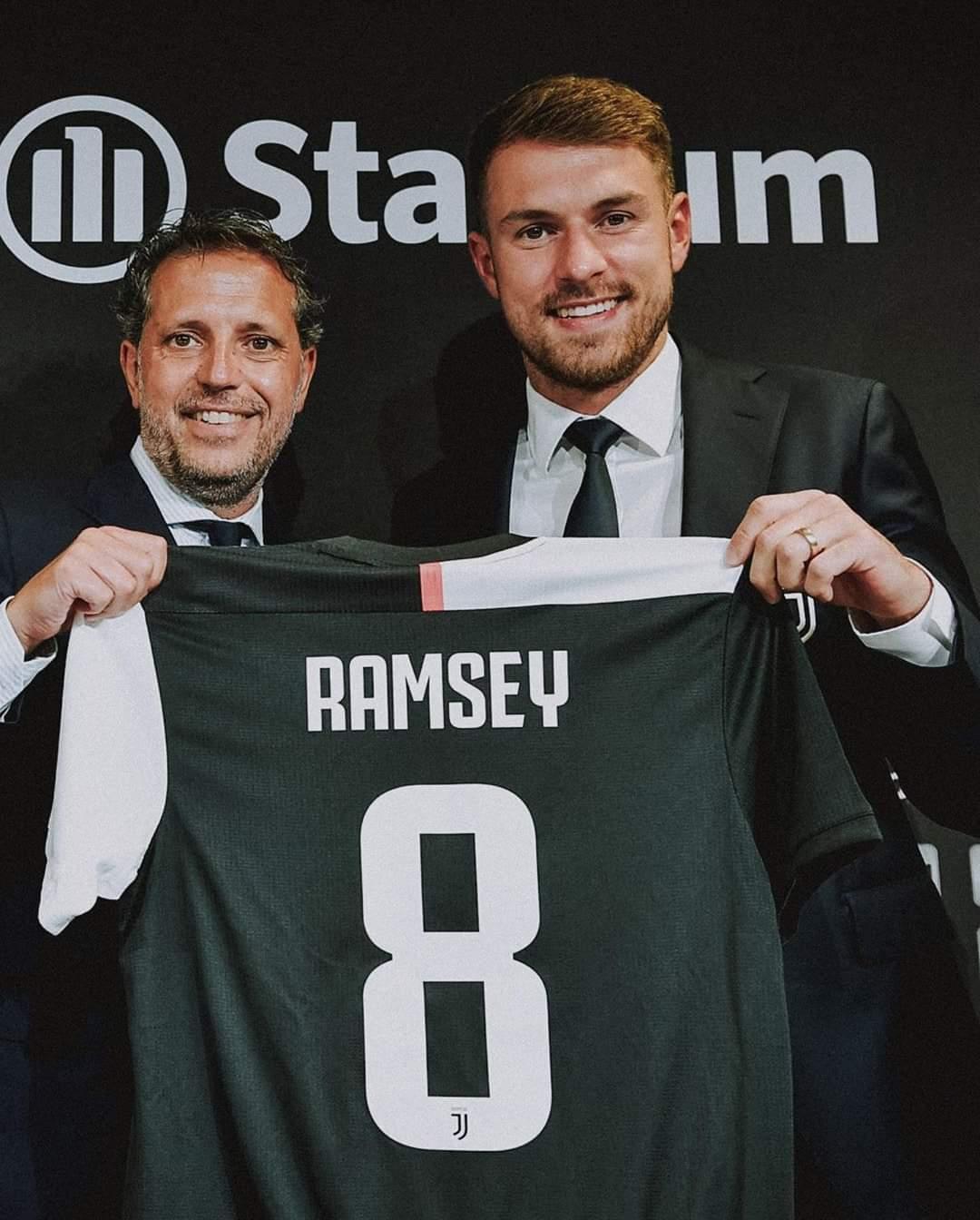 Fjalët e para të Aaron Ramsey si lojtar i Juventusit