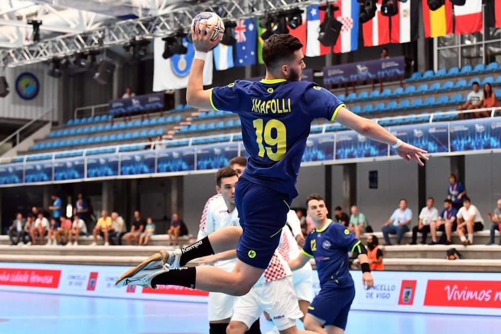 Albin Xhafolli flet për IHF-në, pasi ka shënuar golin e parë të Kosovës në kampionate botërore