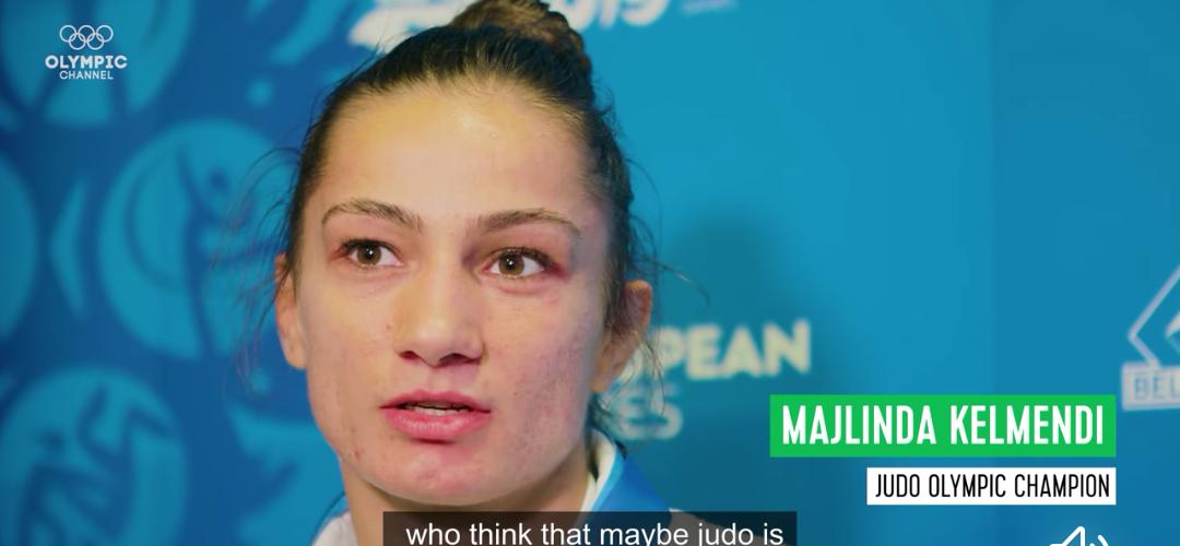 Majlinda Kelmendi jep një mesazh të fortë për barazinë gjinore në sport  (VIDEO)