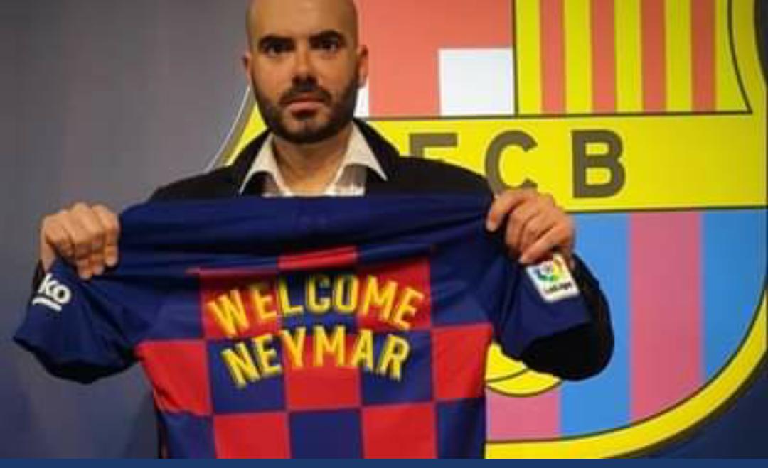 """Bomba e mbrëmjes: """"Neymar, mirë se erdhe te Barcelona!"""""""