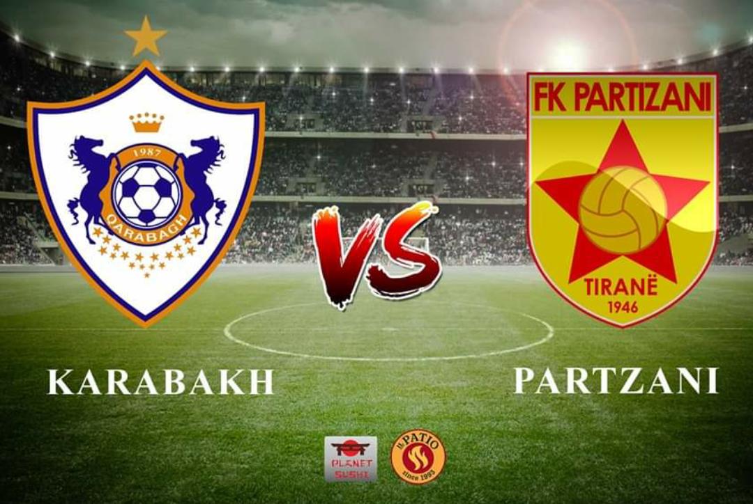 Qarabag – Partizani, mbyllet pjesa e parë me këtë rezultat