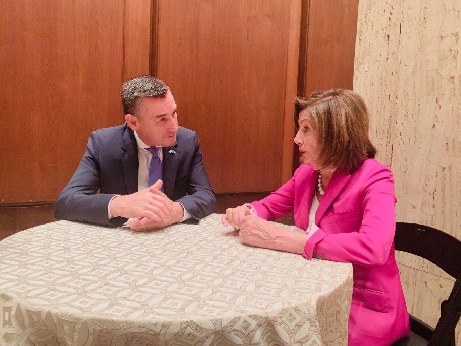 Pelosi thotë se Amerika do të jetë gjithmonë përkrah Kosovës