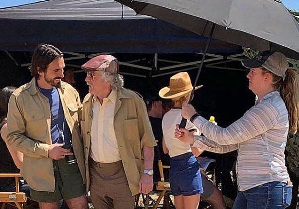Blerim Destani nis xhirimet e filmit përkrah Robert De Niros (FOTO)
