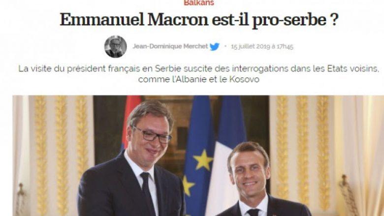 Gazeta franceze: A është Macron pro-serb?