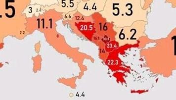 Kosova me shkallën më të lartë të papunësisë në Evropë, por a e dini se cili është vendi me më së paku papunësi?