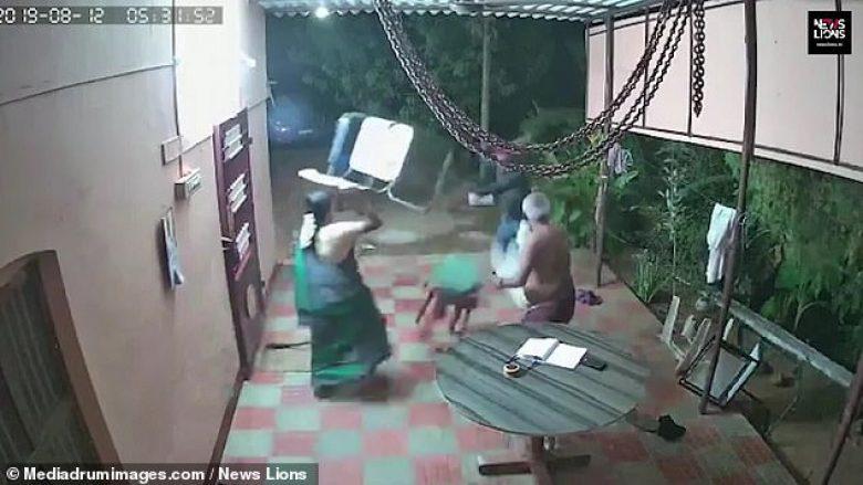 Plaçkitësit gjatë vjedhjes hasën në rezistencën e bashkëshortëve të moshuar