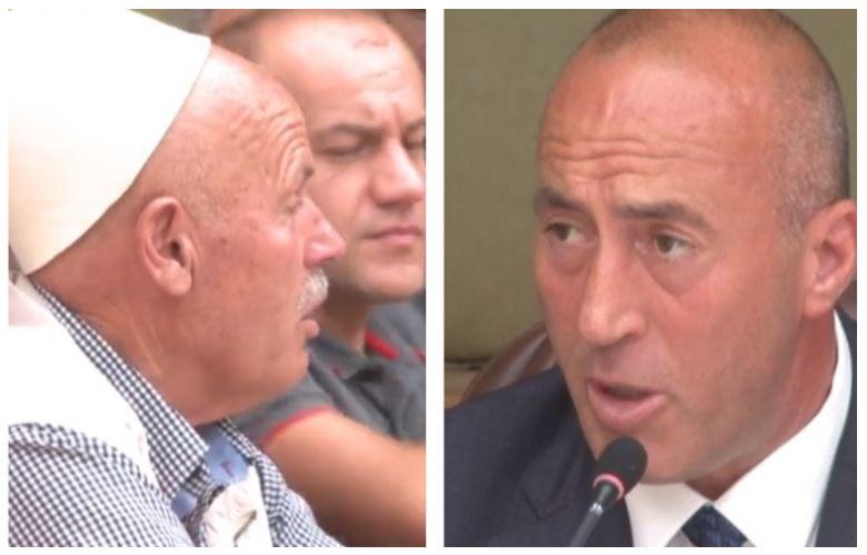 Haradinaj acarohet me një plak në Mitrovicë, ja çfarë i tha atij
