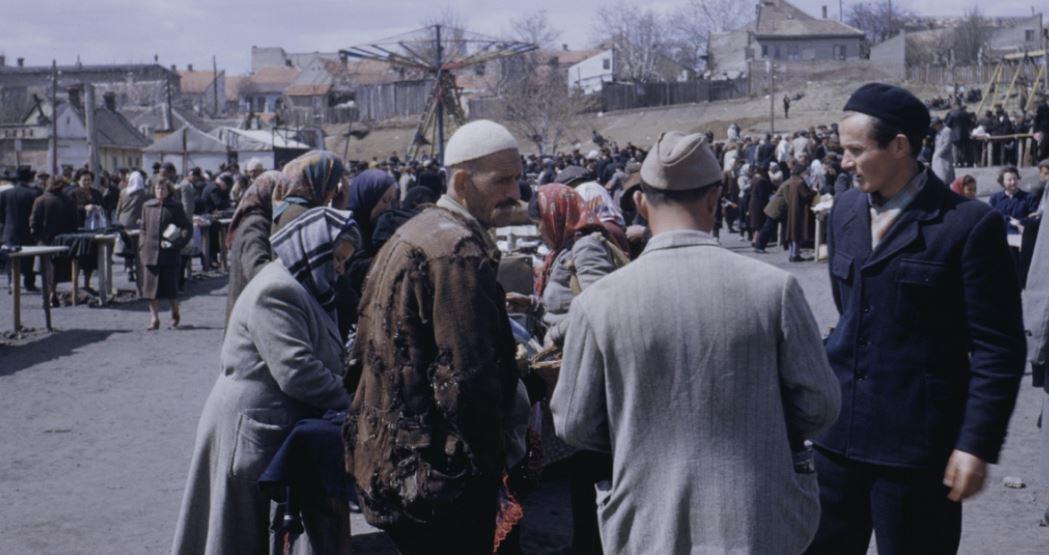 Fotografi të shqiptarëve të varfër në Beograd në vitin 1953