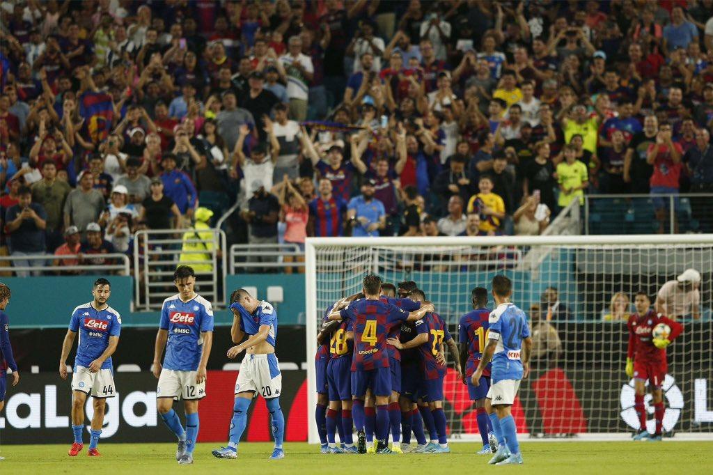 Barcelona fiton ndaj Napolit, Rakitic 'heroi'