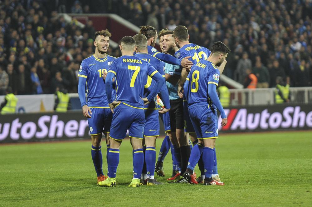 Ky është formacioni i Kosovës kundër Anglisë