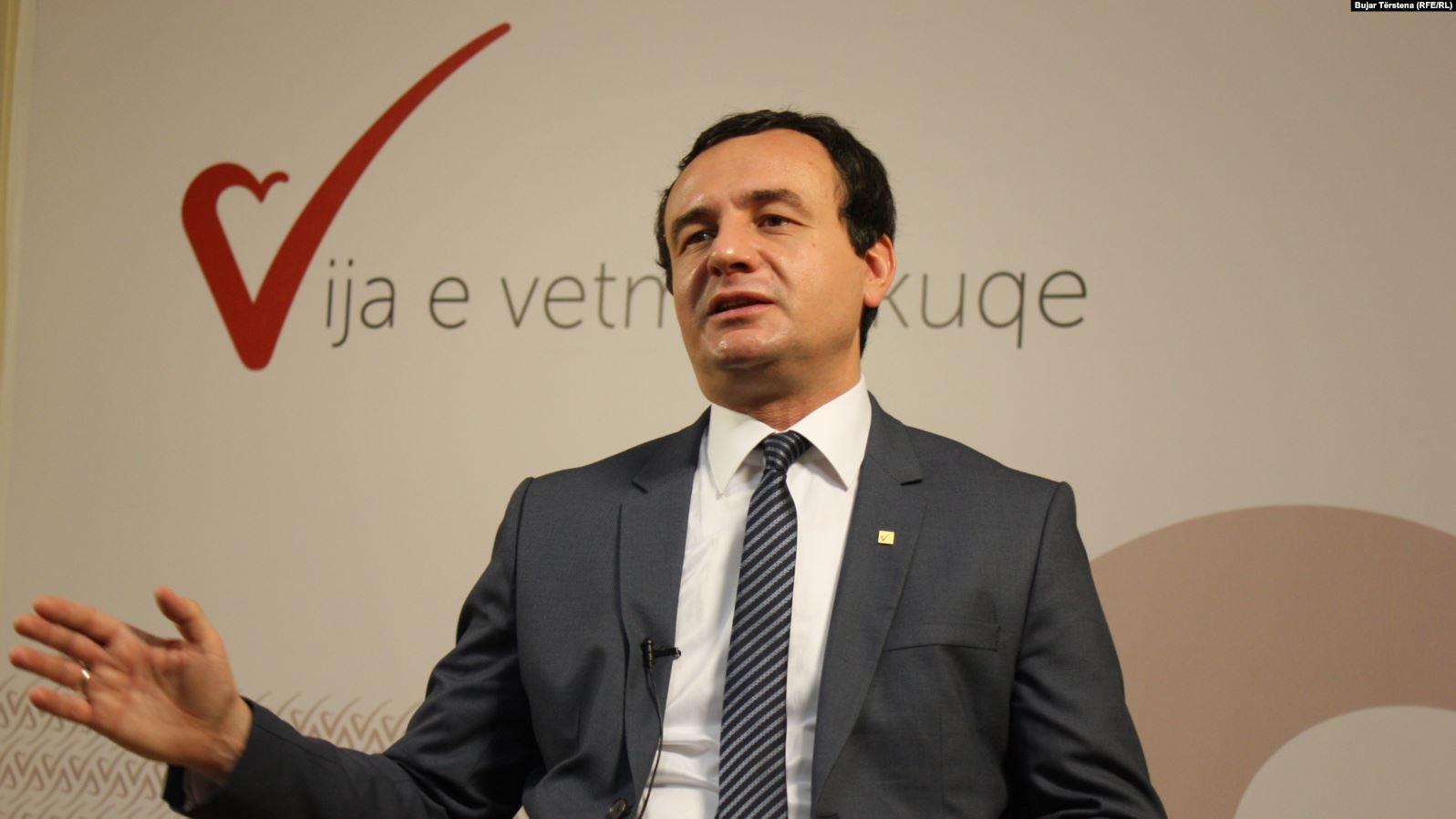 Kurti: LDK e ka pranuar koalicionin me ne, nesër flasim me Isa Mustafën e Vjosa Osmanin
