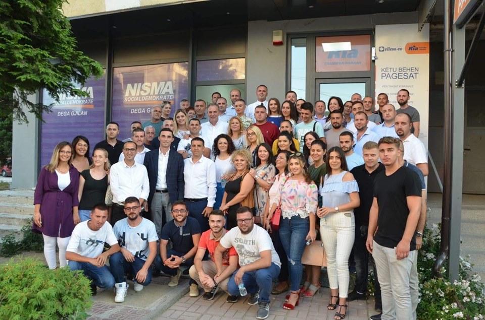 Diaspora e Gjilanit i bashkohet Nismës Socialdemokrate