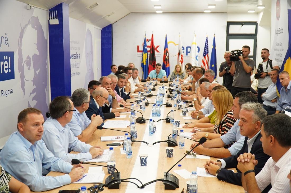 Nis mbledhja e Këshillit të Përgjithshëm të LDK-së
