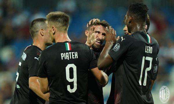 """Trajneri i Milanit komenton ndeshjen me Feronikelin në """"Fadil Vokrri"""""""