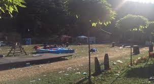 """Parku i Gërmisë ende nuk është pastruar që nga """"Sunny Hilli"""" – më s'do lejohen festivale aty – Video"""