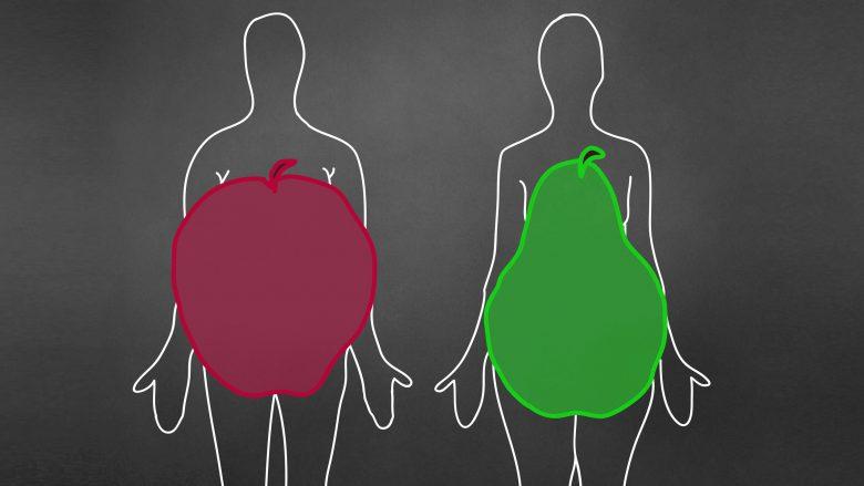 """""""Dardhë"""" apo """"mollë"""": Cila femër me formën e këtillë të trupit është më e rrezikshme për shëndetin tuaj?"""