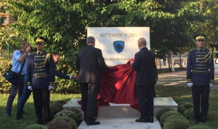 Zbulohet pllaka përkujtimore në nderim të viktimave të 11 shtatorit