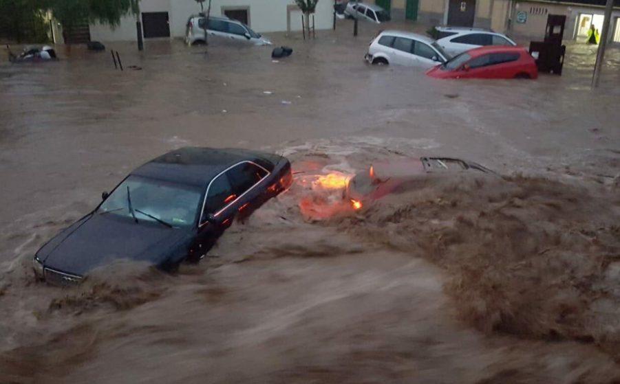 Spanja goditet nga tornado dhe përmbytjet