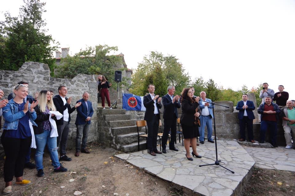 Vjosa Osmani nga Veriu i Kosovës mesazh kundër ndryshimit të kufijve
