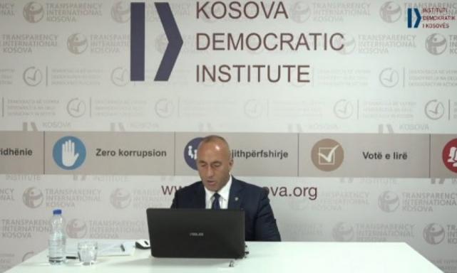 Haradinaj: Heqja e taksës bëhet vetëm kur Serbia ta njohë Kosovën