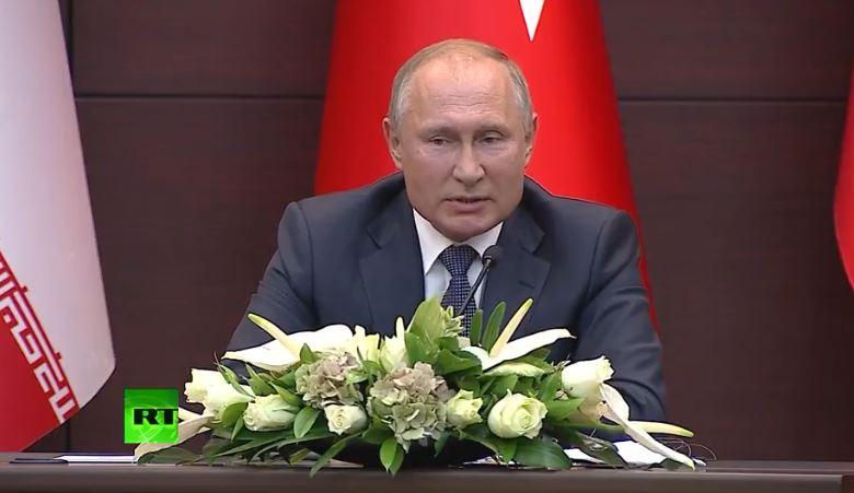 Erdogan e Rouhani ia plasin gazit kur Putin e citon Kuranin