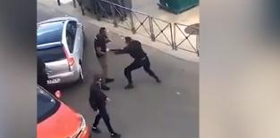 Po cilësohet skandal në Francë, shikoni se si polici filloi sherrin me një civil